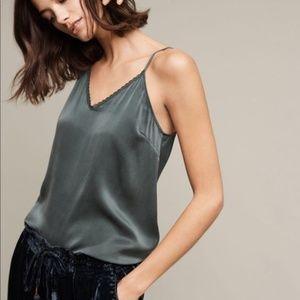NWOT Eloise Silk Tank XS
